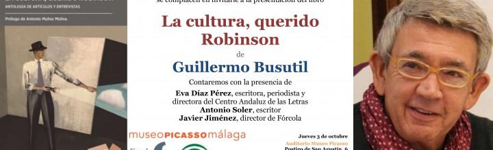 Presentación de Guillermo Busutil en Málaga