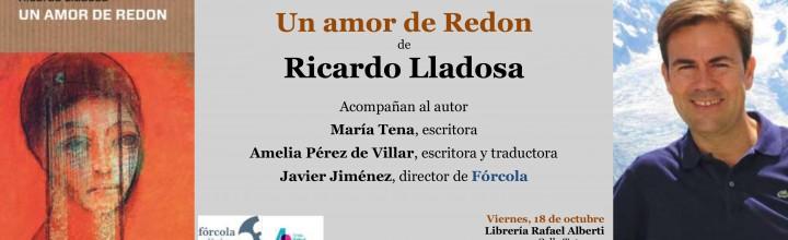 Presentación de Ricardo Lladosa en Madrid