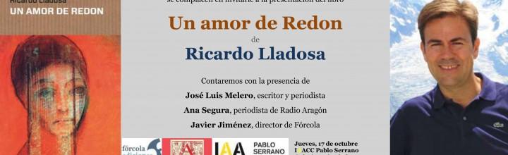 Presentación de Ricardo Lladosa en Zaragoza