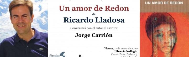 Presentación de Ricardo Lladosa en Barcelona