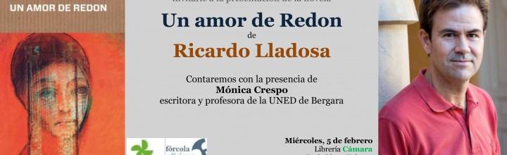 Presentación de Ricardo Lladosa en Bilbao