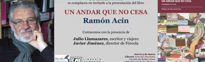 Presentación de Ramón Acín en Madrid