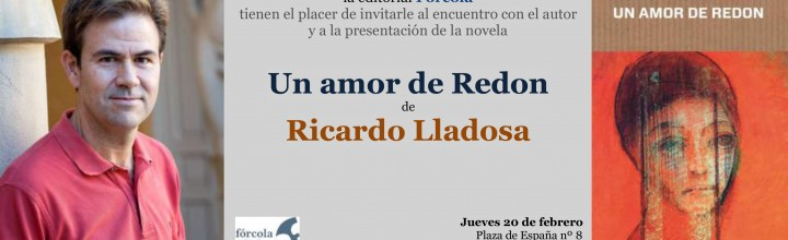 Presentación de Ricardo Lladosa en Zuera