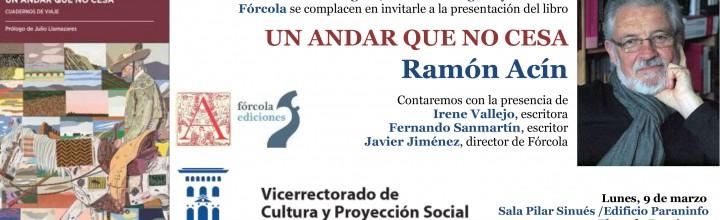 Presentación de Ramón Acín en Zaragoza