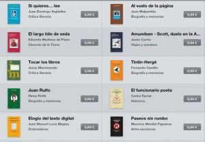 ebooks de Fórcola