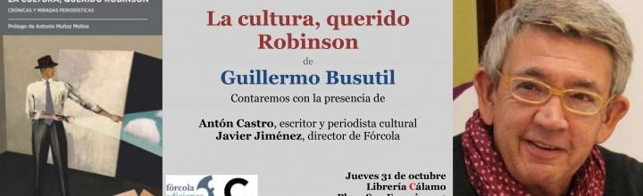 Guillermo Busutil en Zaragoza