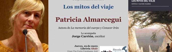 Presentación de Patricia Almarcegui en Barcelona
