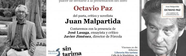 Presentación de Juan Malpartida en Madrid