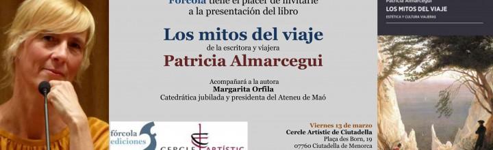 Presentación de Patricia Almarcegui en Ciudadela de Menorca